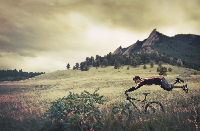 The spiritual depths of mountain biking